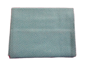 Cotton Fat Quarter - Teal Tiny Dots | Beachside Knits N Quilts