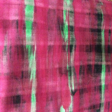 Cotton Fabric - Illusions- Fuchsia - Marie Kelzer for Westminster Fabrics - End of Bolt - Beachside Knits N Quilts