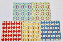 "Load image into Gallery viewer, Harlequin Star 5"" Charm Squares - Set of 20 - Astro Collection - Felicity Miller"