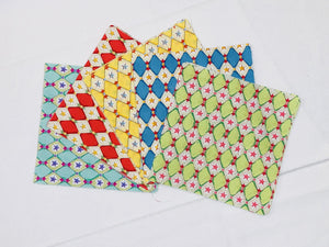 "Harlequin Star 5"" Charm Squares - Set of 50 - Astro Collection - Felicity Miller"