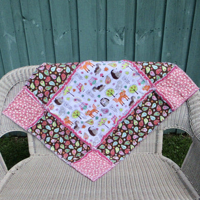 Big Block Rag Quilt - 32