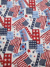 Load image into Gallery viewer, Quilted Table Runner or Dresser Scarf - Patriotic - Beachside Knits N Quilts