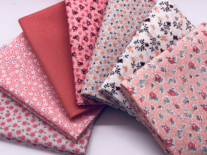 Treasures in the Attic Fat Quarter Bundle - Pinks - Beachside Knits N Quilts