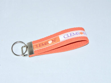 Clemson Tigers Keychain | Beachside Knits N Quilts