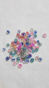 CLEARANCE Pastel Glass Seed Beads Size 6/0 | Beachside Knits N Quilts
