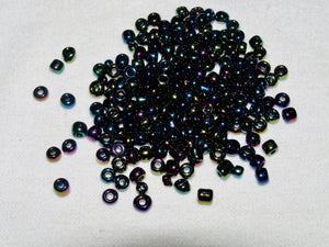 CLEARANCE Dark Royal Shades Glass Seed Beads Size 6/0 | Beachside Knits N Quilts