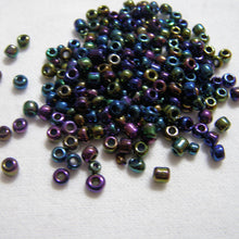 Load image into Gallery viewer, CLEARANCE Dark Royal Shades Glass Seed Beads Size 6/0 | Beachside Knits N Quilts
