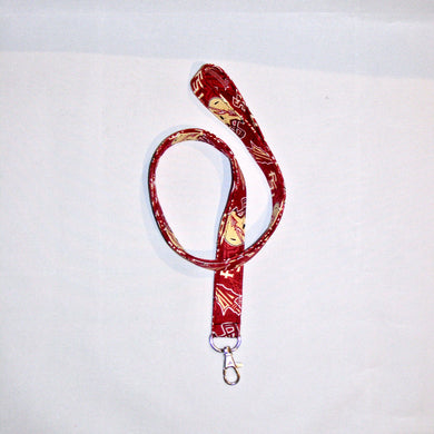Florida State University Seminoles Lanyard Keychain Swivel Clasp Free Gift Box Included | Beachside Knits N Quilts