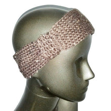 Load image into Gallery viewer, Knitted Headband - Chocolate Tweed - Beachside Knits N Quilts