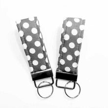 Load image into Gallery viewer, Polka Dot Mini Key Chain Key Fob | Beachside Knits N Quilts