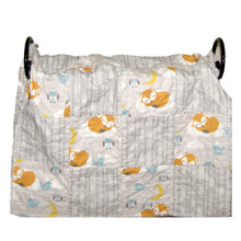 Load image into Gallery viewer, Fox Owl Rag Quilt Crib Size Gender Neutral | Beachside Knits N Quilts