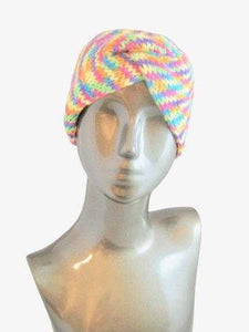 Twisted Headband Ear Warmer Head Warmer Knitted Striped | Beachside Knits N Quilts
