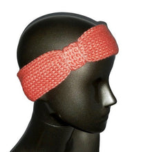 Load image into Gallery viewer, Knitted Headband - Conch Coral - Beachside Knits N Quilts