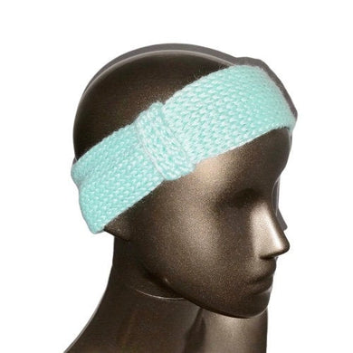 Headband Ear Warmer Hat Knitted Mint Green | Beachside Knits N Quilts