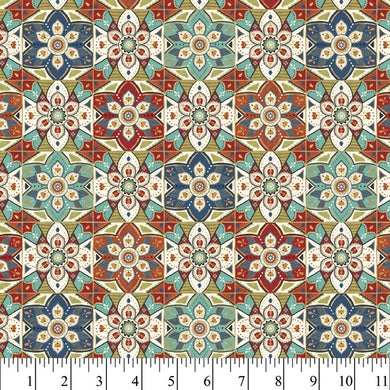 LA VIDA LOCA GEO 1 YD COTTON CUT - Beachside Knits N Quilts