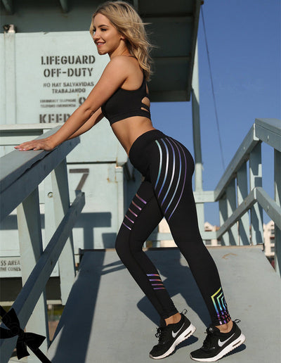 The Glow Up Is Real: Leggings - Trill Athletics