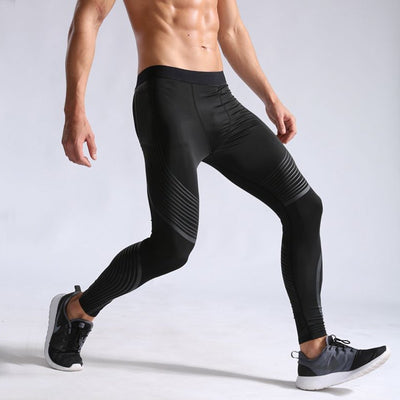 Runners High: Men's Compression Leggings - Trill Athletics