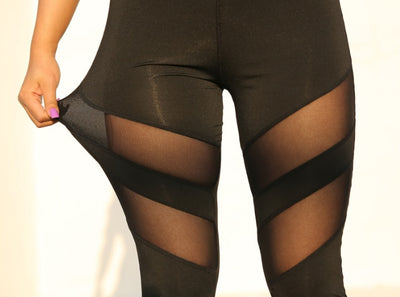 Peekaboo High Waisted Leggings - Trill Athletics