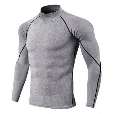 King Of The Jungle: Compression Long Sleeve Shirt - Trill Athletics