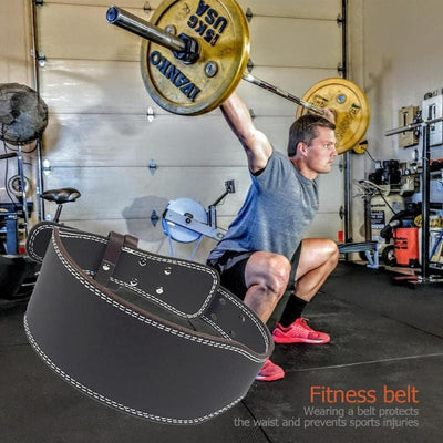 Maxed Out: Weightlifting Back Support Belt - Trill Athletics