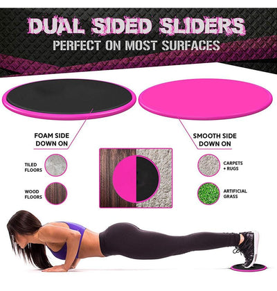 Total Body Fitness Sliders - Trill Athletics