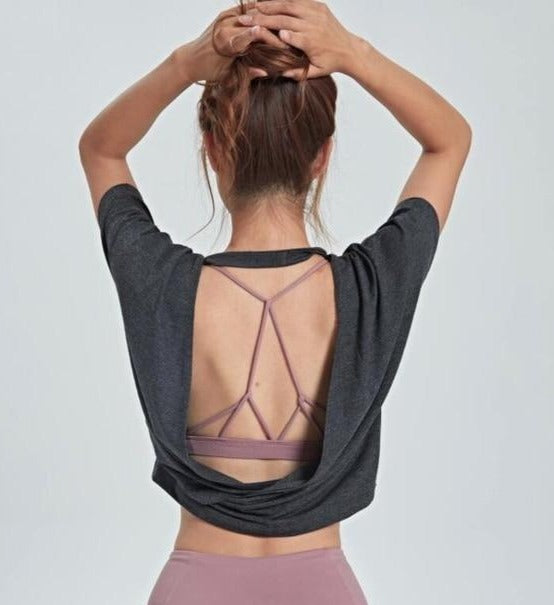 Miss Independent: Open Back T-shirt