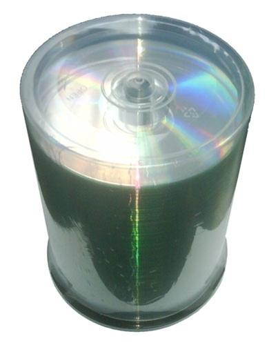 CheckOutStore CD-R Media CheckOutStore 52x CD-R 80min 700MB ARCHIVAL Hard Coat Shiny Silver