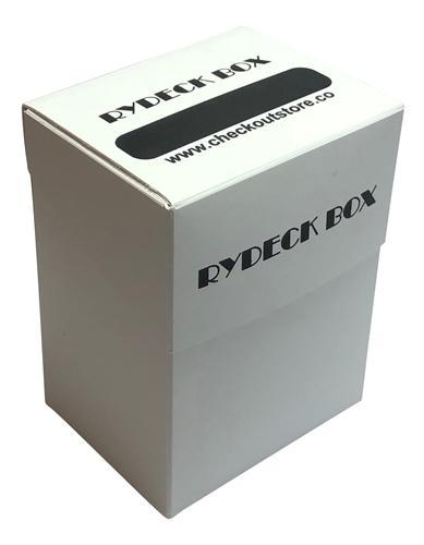 CheckOutStore.com [FG-RYD1FREE] Random Color Rydeck Box 120 Trading Card Holder