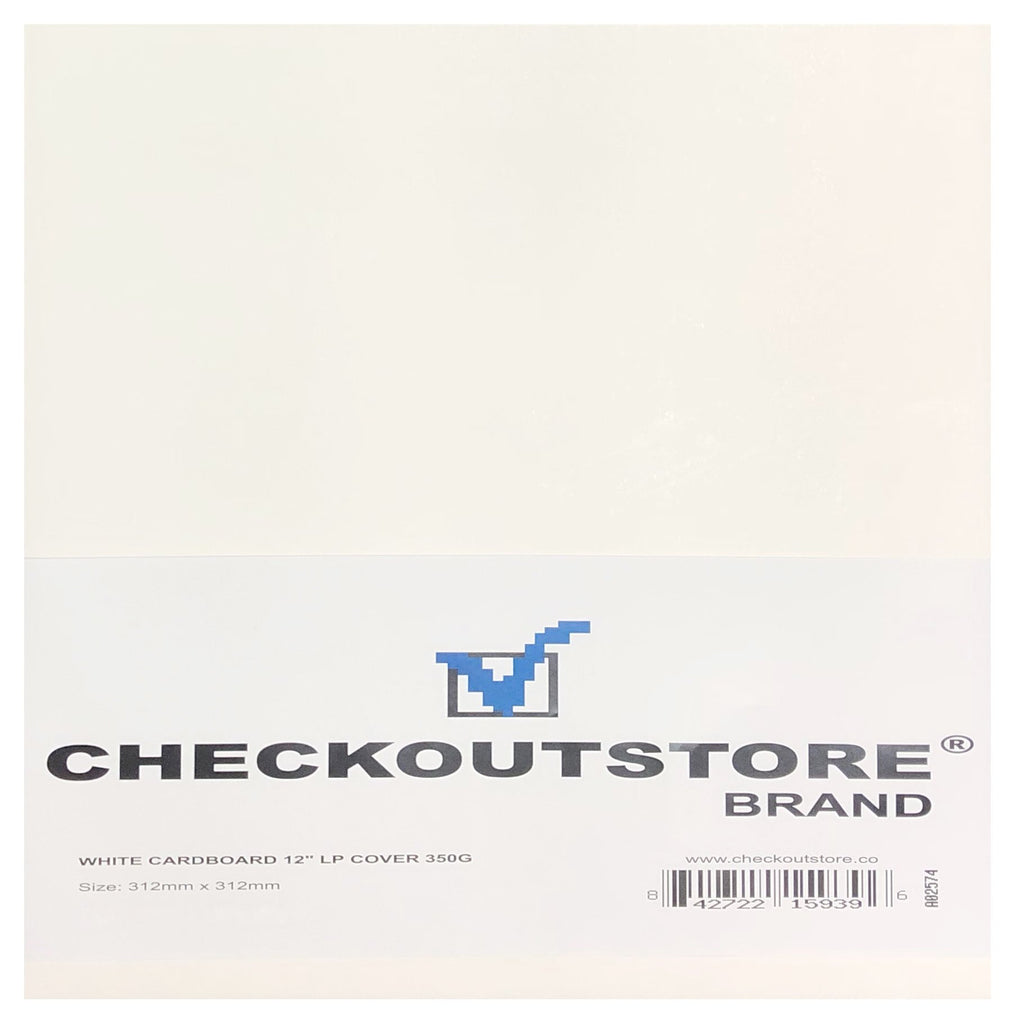 "CheckOutStore Record Jackets CheckOutStore Cardboard Jackets Cover for 12"" Vinyl 33 RPM Records"