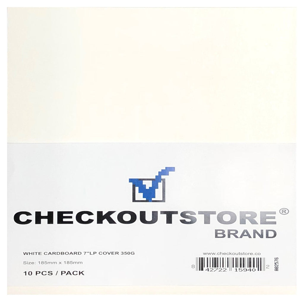 "CheckOutStore Record Jackets CheckOutStore Cardboard Jackets Cover for 7"" Vinyl 45 RPM Records"