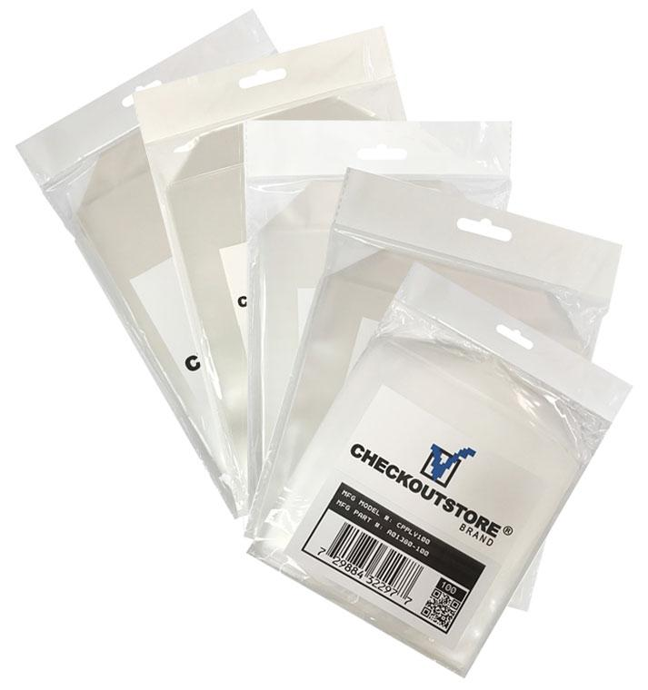 CheckOutStore Storage Pockets CheckOutStore Stamp & Die Stamp & Die Clear Storage Pockets Bundles (S, M, L, LT, XL)