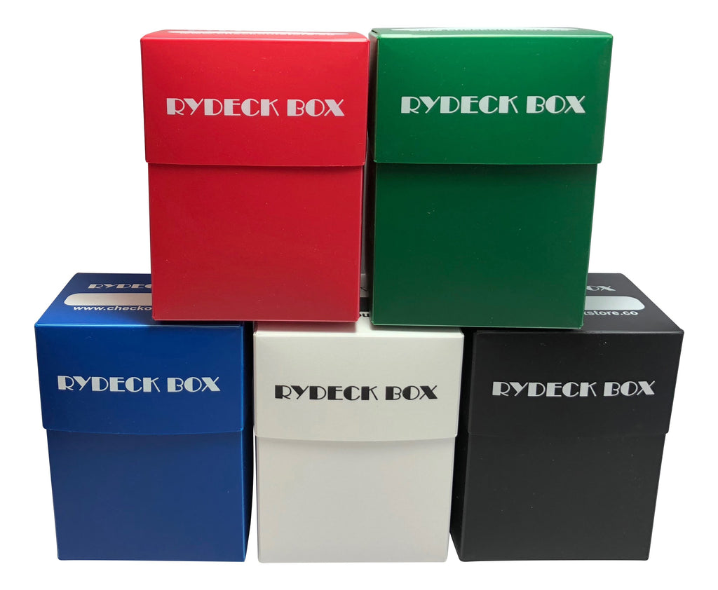 CheckOutStore Trading Card Holder 1 Rydeck Box 120 Trading Card Holder - Assorted Colors