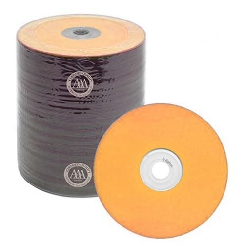 Spin-X CD-R Media Spin-X Diamond Certified 48x CD-R 80min 700MB Orange Color Top Thermal