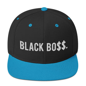 Black Boss Logo - Snapback Hat