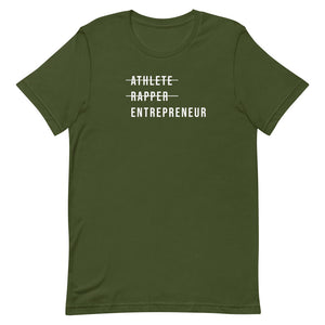 Athlete Rapper Entrepreneur Short-Sleeve T-Shirt