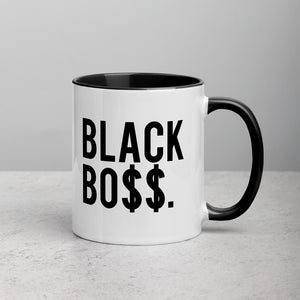 Black Boss Logo - Mug