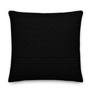 Black Boss Logo - White Premium Pillow