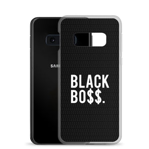 Black Boss Logo - Samsung Case