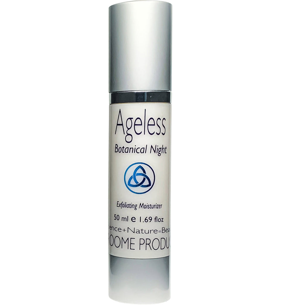 Ageless Botanical Night Exfoliating Moisturizer