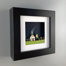 Load image into Gallery viewer, Miniature Mixed Media Picture - Scottish Landscape