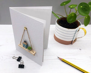 Miniature Pencil House Handmade Card - Keepsake Card - Suitable for any Occasion, including New Home/Housewarming