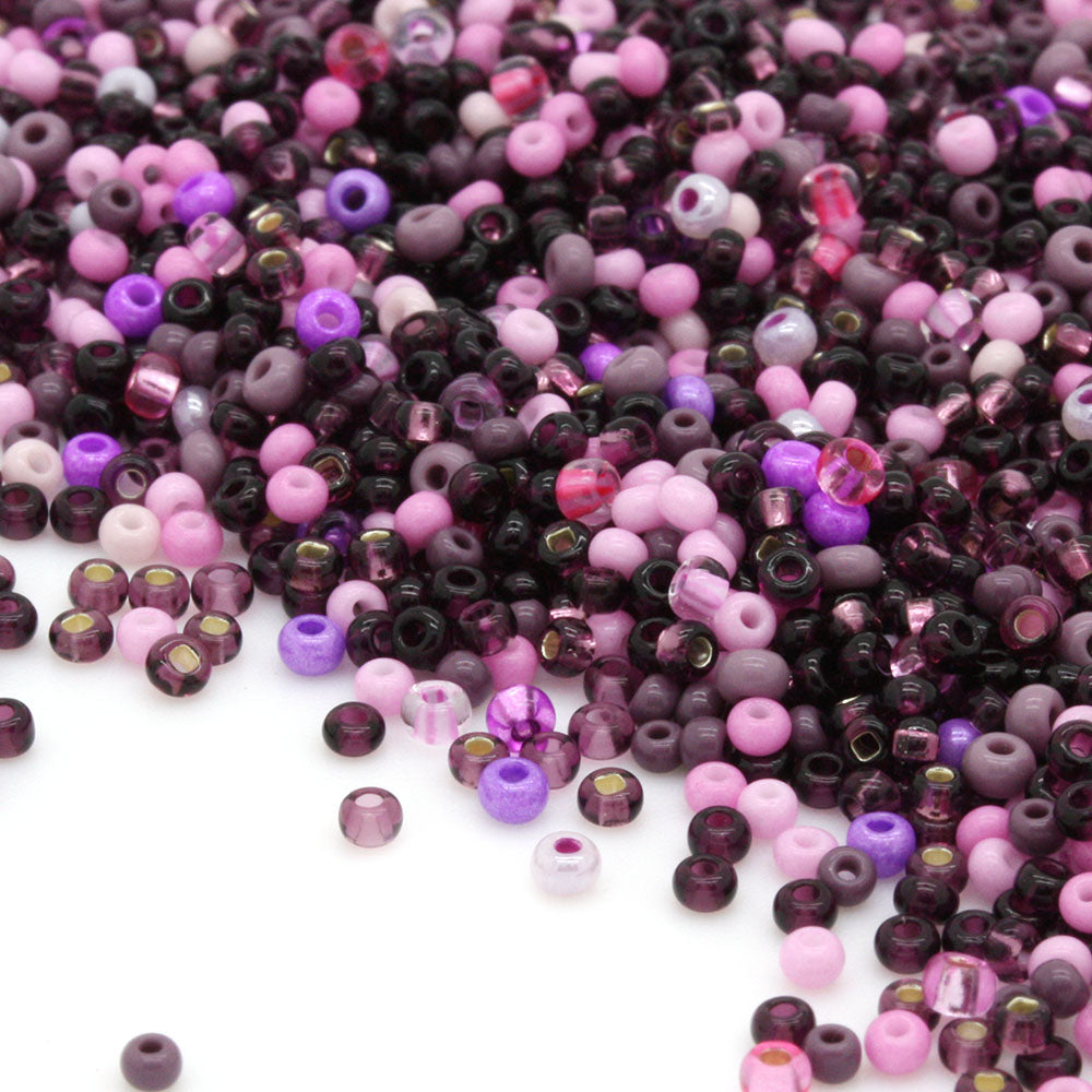 Czech Seed Bead Mix 11/0 Berrylicious-Pack of 50g