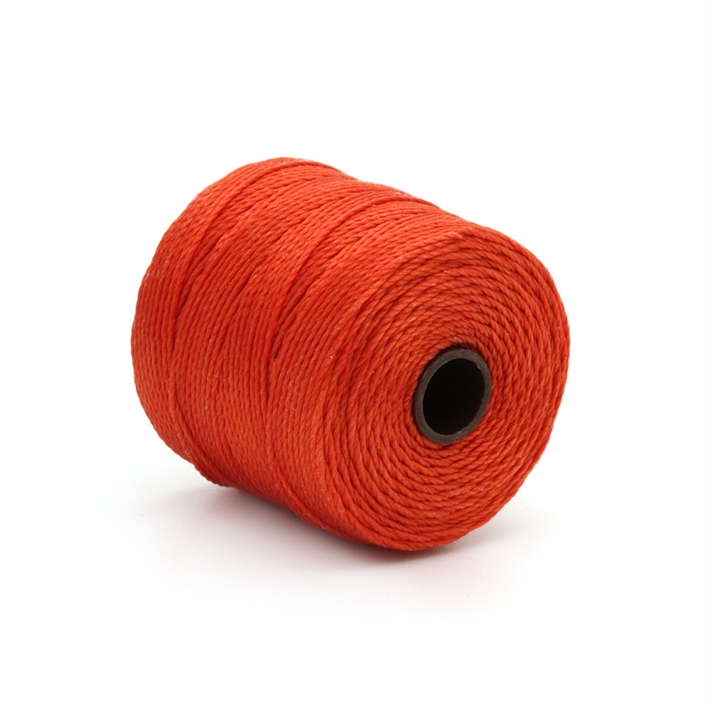 S-Lon Bead Cord Orange 70m - Pack of 1
