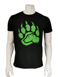 BearClaw Tee - Black/Lime