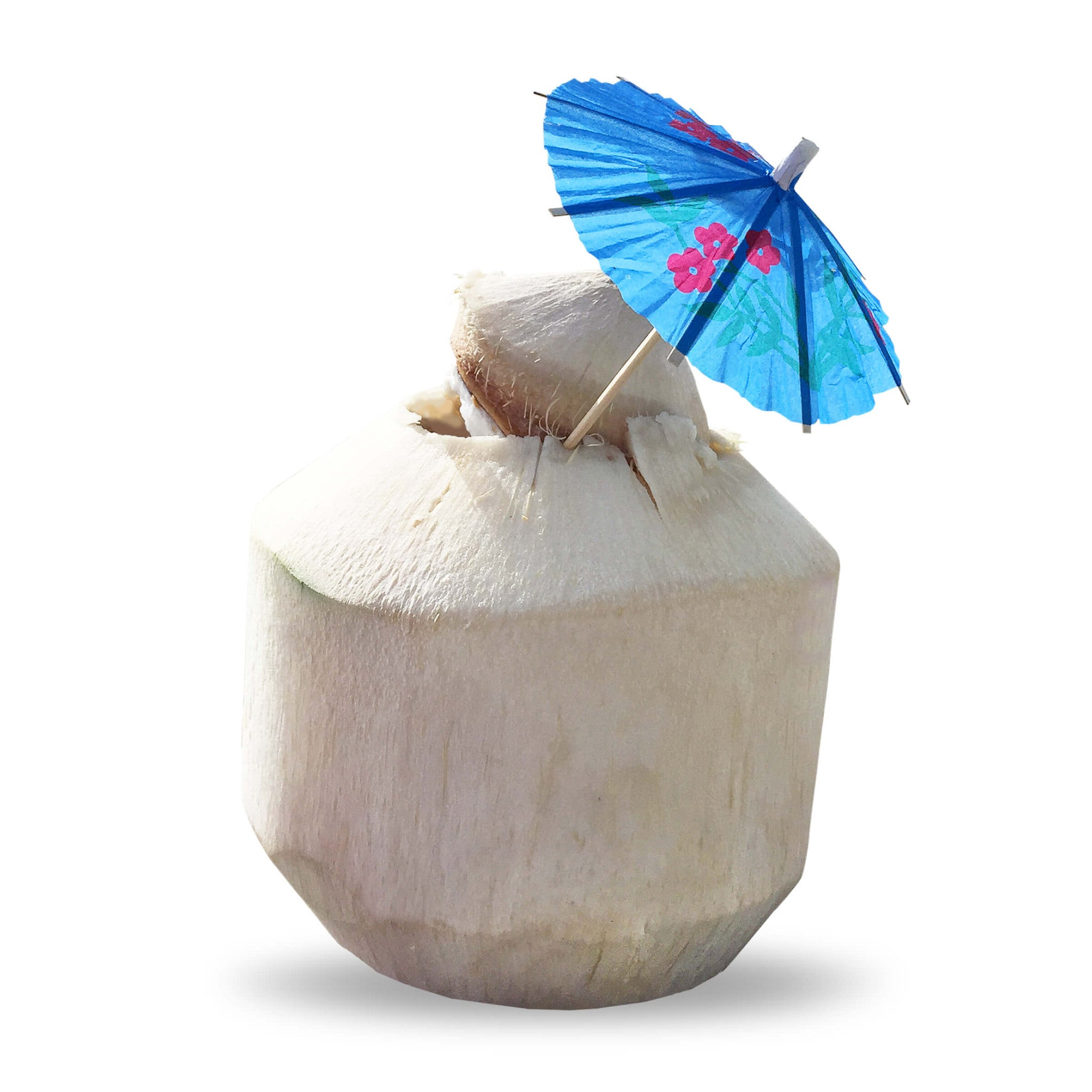 Tiny Coconut Umbrellas!