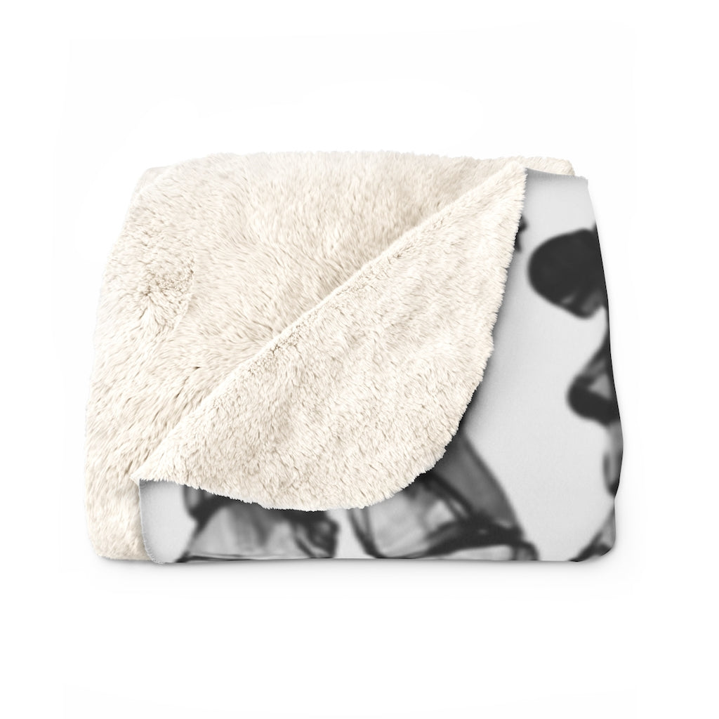 Safe word, Sherpa Fleece Blanket