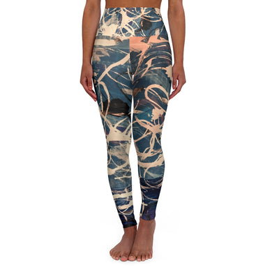 Urban Camo. High Waisted Yoga Leggings