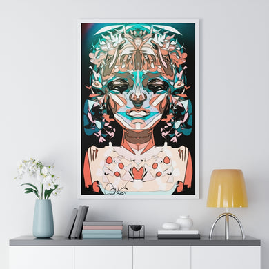 New Year. By Sarah Weaver. Premium Framed Vertical Poster