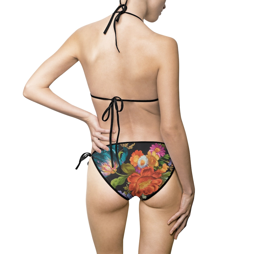 Unlikely Wallflower Women's Bikini Swimsuit