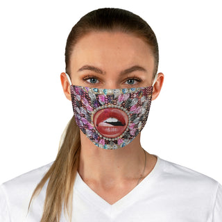 Libk my lips, Fabric Face Mask